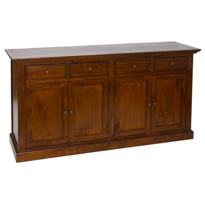 4-door 4-drawer sideboard