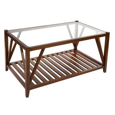 Mesa centre amb cristall