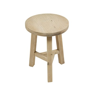 Wooden stool Jelte