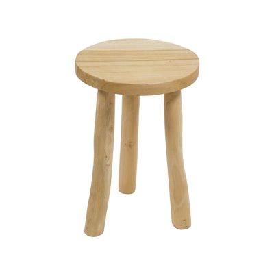 Owen wooden stool