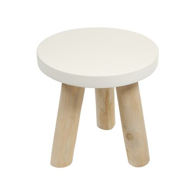 Riga wooden side table