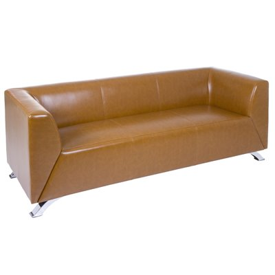 """Sofá tres plazas """"Elegant"""" marrón"""