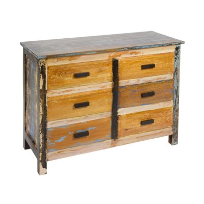 """Chest 6 drawers """"Solo"""" Vintage"""