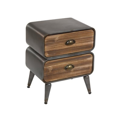Three drawers side table