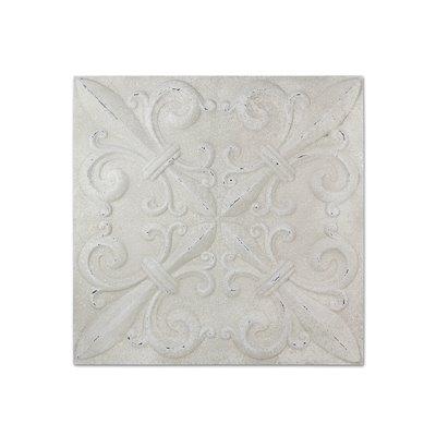 Weiße Wand-Dekoration