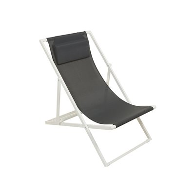Dark grey garden chair