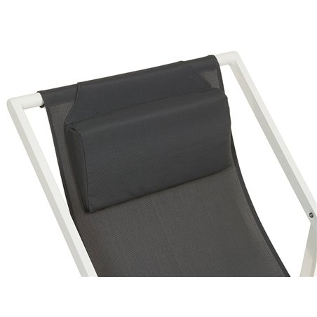 Dark grey garden chair