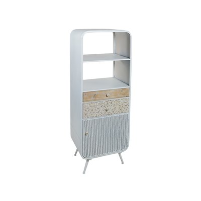 Shelves Fez white metal