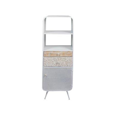 Shelves Fez white metal