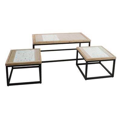 Set 3 tables center Fez