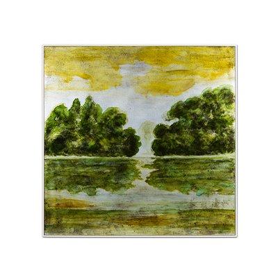 Tableau acrylique paysage
