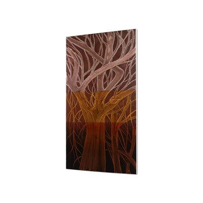 Tree acrylic painting
