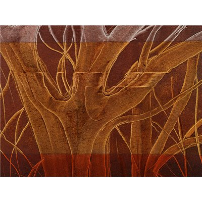 Cuadro acrílico árbol