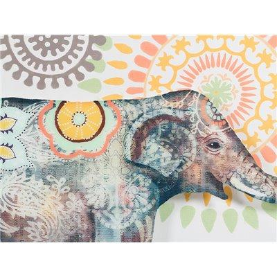 Cuadro acrílico elefante