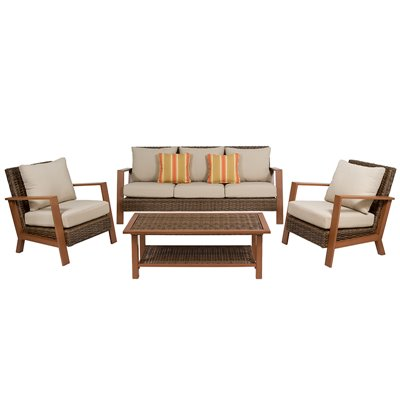 Bali 4 pieces sofa garden set