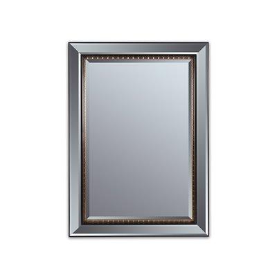 Antique gold black mirror