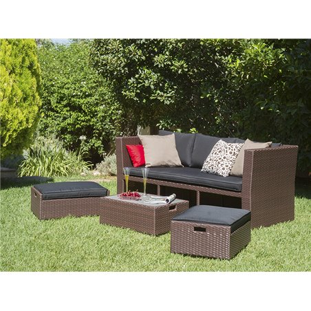 4 pieces outdoor set Lido