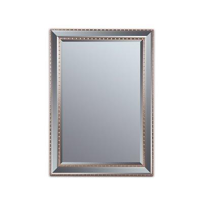 Antique silver cord mirror