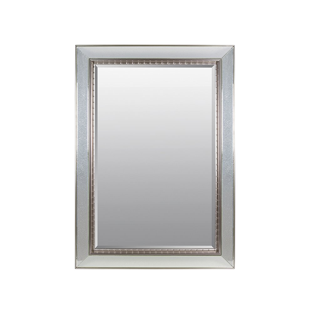 Espejo gotas plata