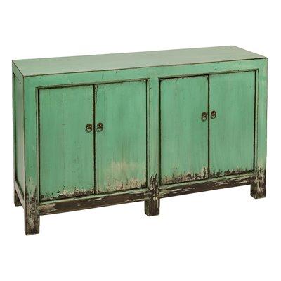 Green sideboard 2 doors