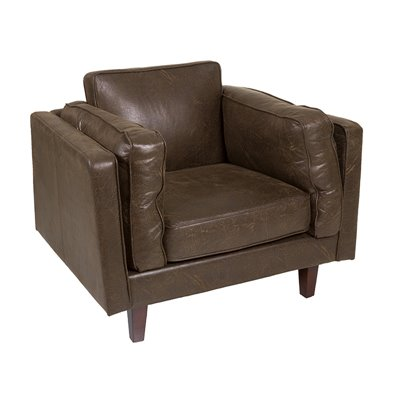 Marlo brown armchair