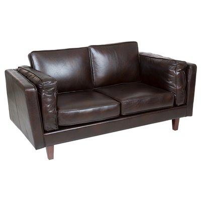 Sofa 2 Sitzer schwarz Marlo