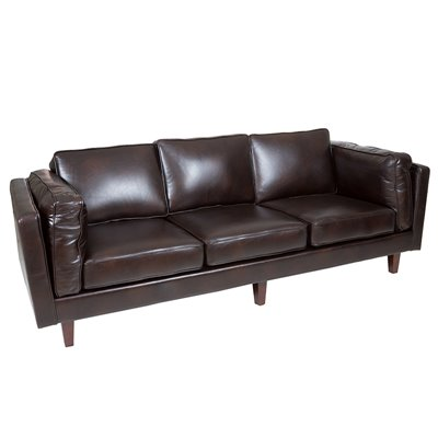 Sofa 3 seater black Marlo