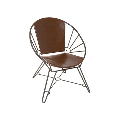 Retro metal armchair