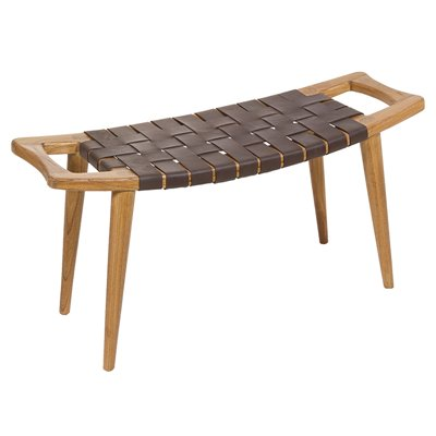 Dark Sawyer stool bench