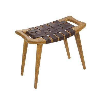 Dark Sawyer stool bench