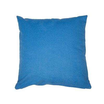 Coussin Panama bleu