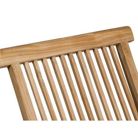 Teak chair 89x47x43 cm