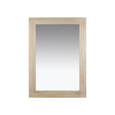 Espejo rectangular natural