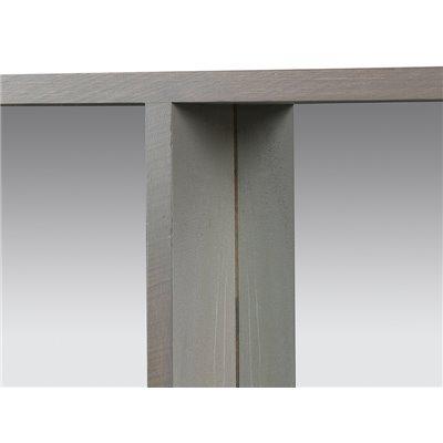 Espejo rectangular gris