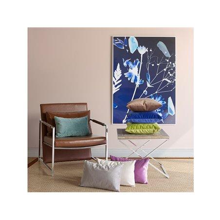 Cojín Velvet azul 45x45 cm