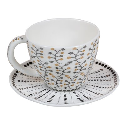 Taza de té organic flor