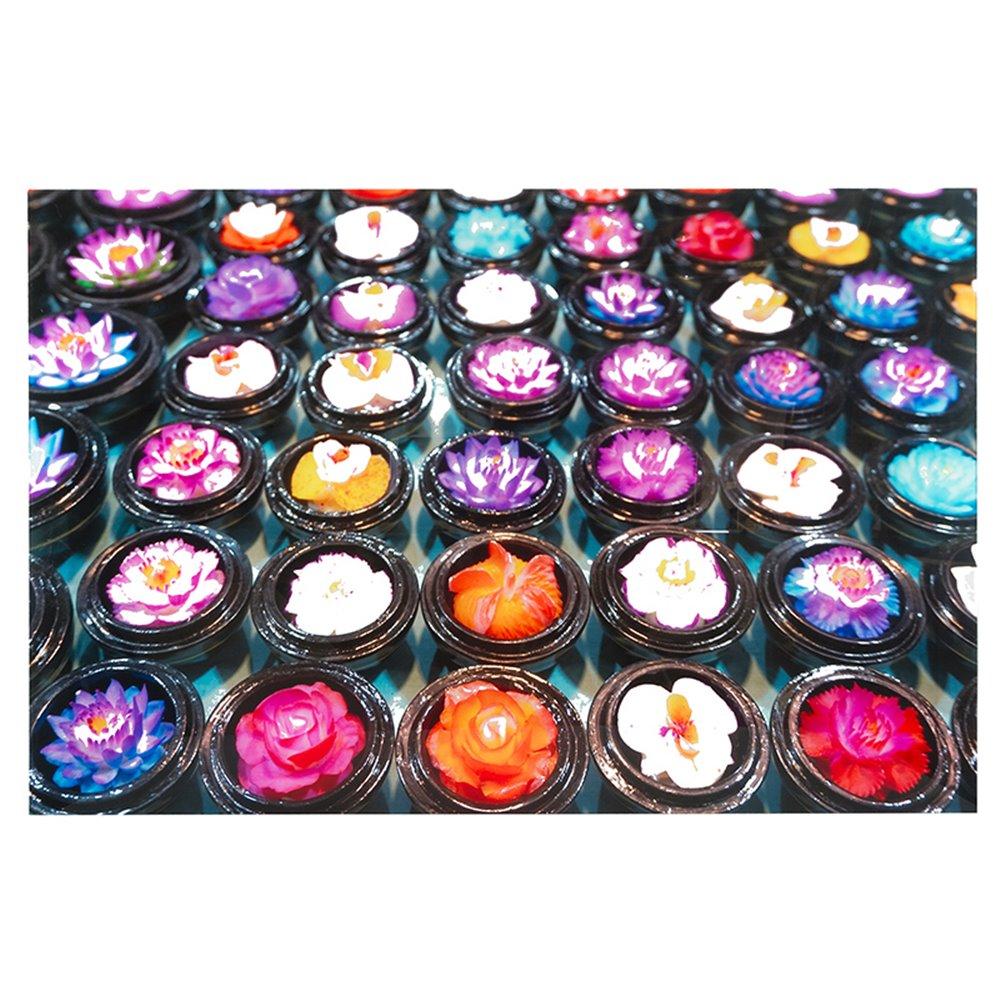 Cuadro flores colores