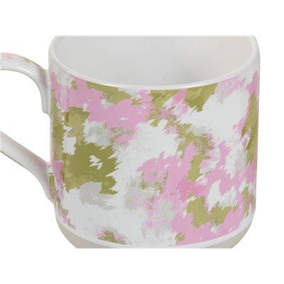 Taza camuflaje rosa