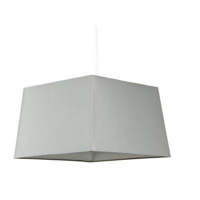 Lámpara pirámide gris