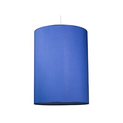 Lámpara cilindro azul