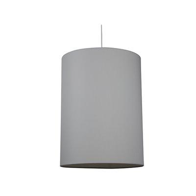 Lámpara cilindro gris