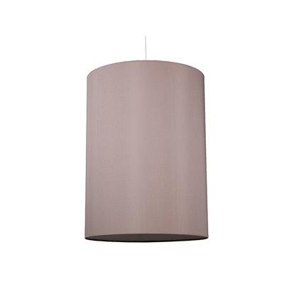 Lámpara cilindro ceniza