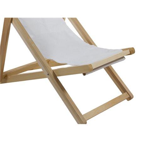 Silla reclinable de terraza y jardín
