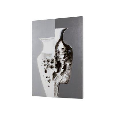 Peinture tableau vases
