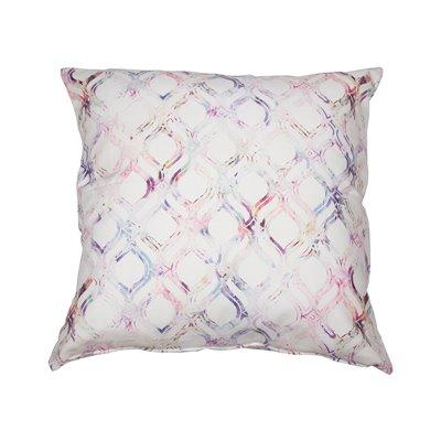 Cojín Eight rosa 100% algodón 45x45 cm