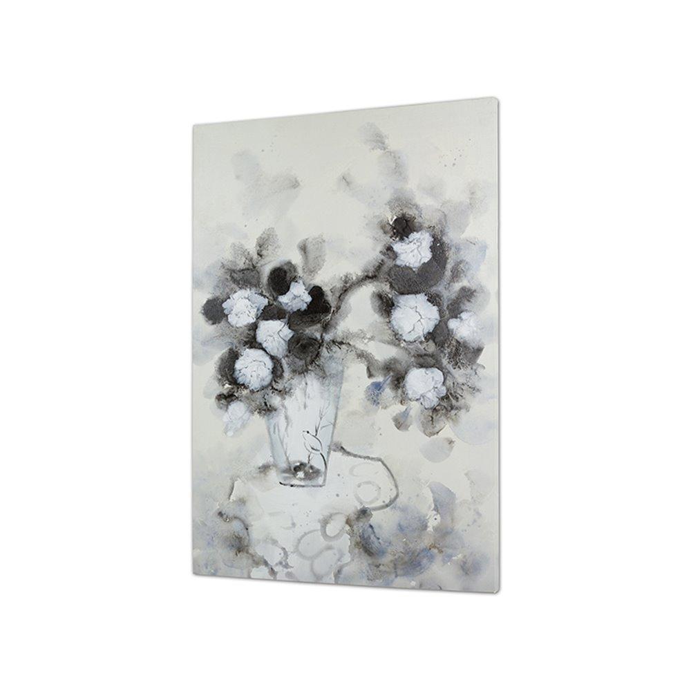 Cuadro jarrón flores