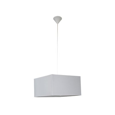 Lámpara cubo gris