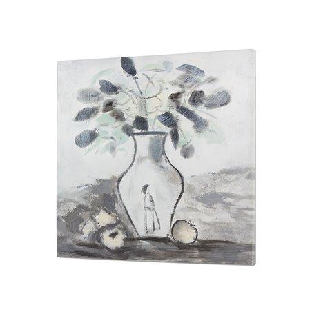 Peinture tableau vase