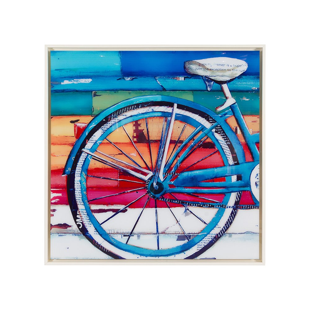 Cuadro rueda bicicleta