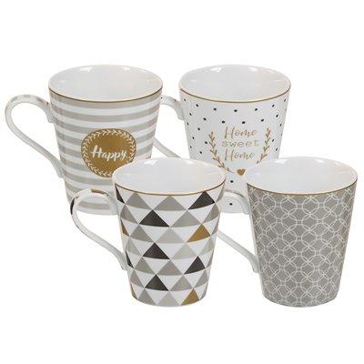 Conjunto de 4 tazas Coffe